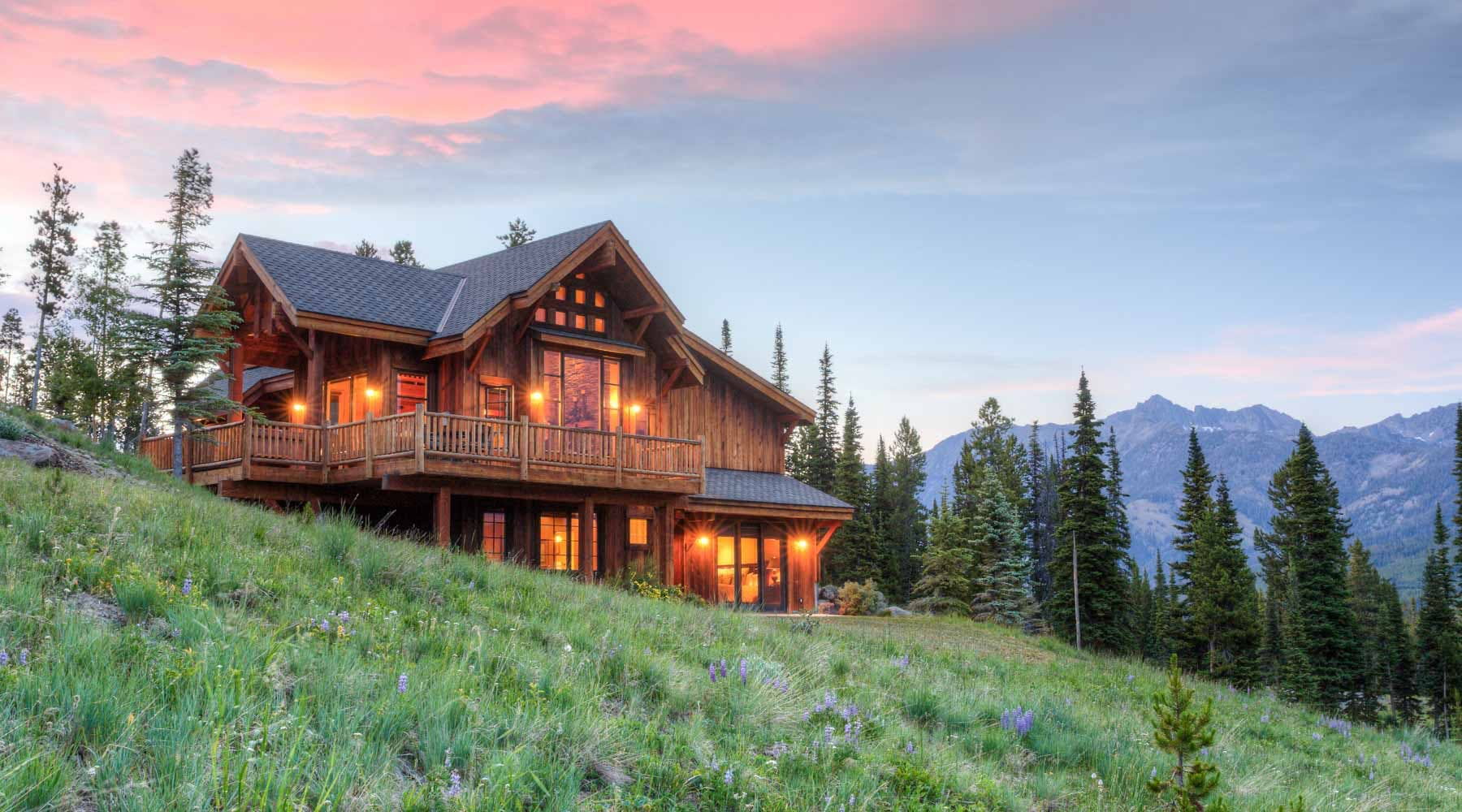 Big sky montana vacation rental cabins condos big sky for Big sky cabin rentals